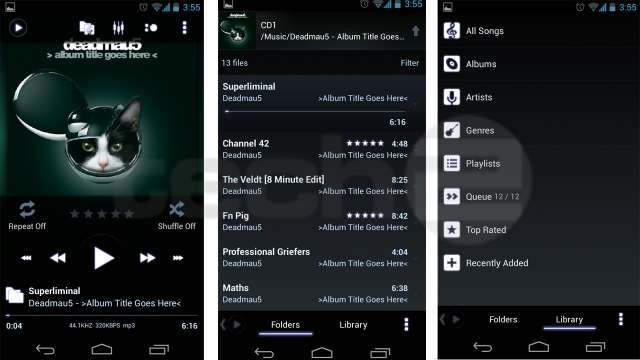 Top 5 Music Player Apps For Android3