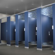21st-Century Bathroom Partitions For Convention Centers