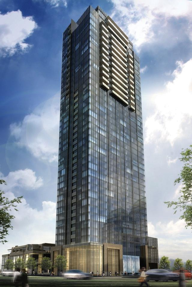 Developer Proposes Sixty Four-Story Tower In Toronto's Yorkville