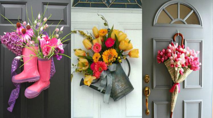 Creative Front Door Decor Ideas Except Wreath