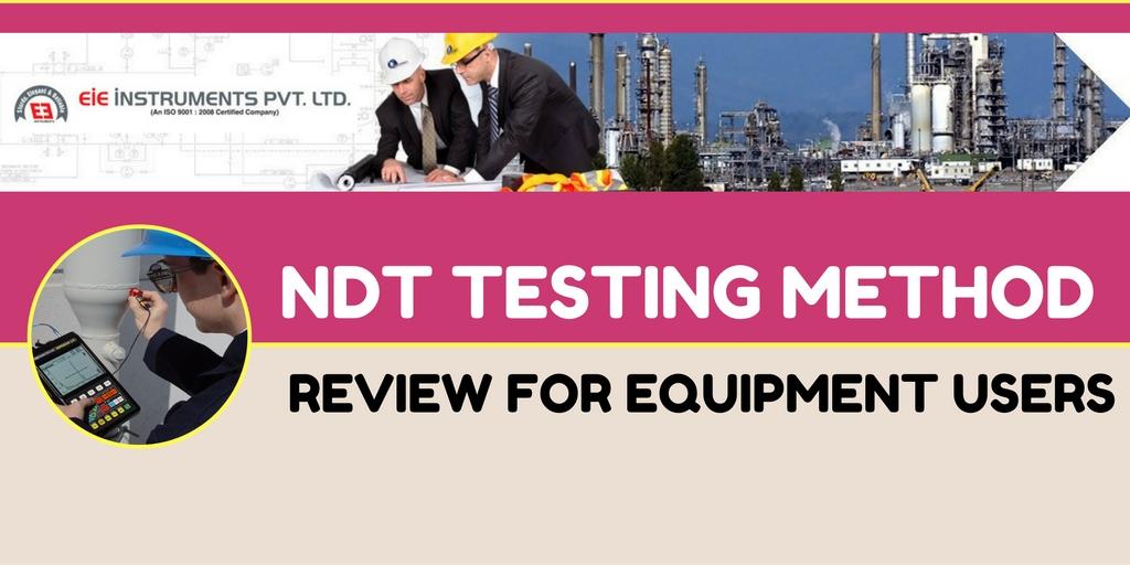 NDT testing equipment