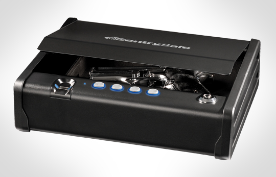 Fingerprint Gun Safe - The BARSKA Mini Biometric Safe