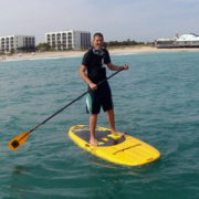 Get On The Water With A Paddle Board