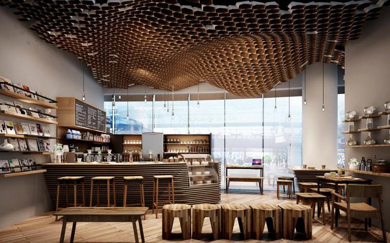 creative cafe interior design
