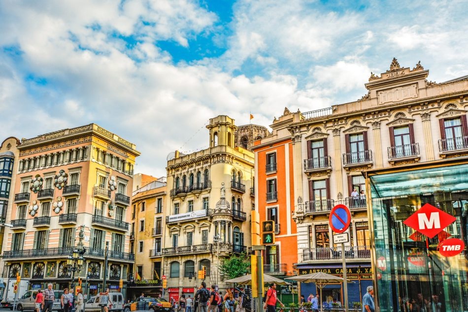 The Most Colourful Corners Of Barcelona