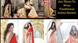 Traditional Indian Sarees