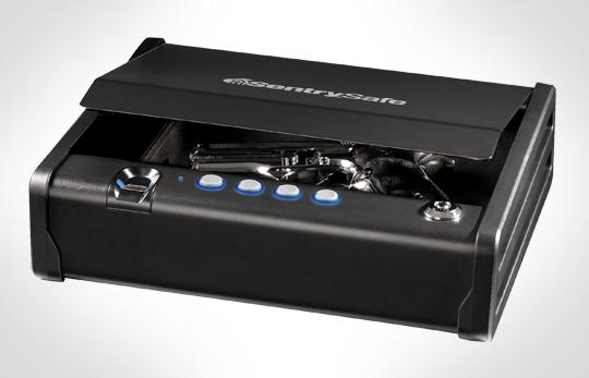 Fingerprint Gun Safe - The BARSKA Mini Biometric Safe
